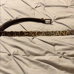 New Dolce & Gabbana belt